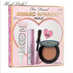 Brand New In Box Too Faced Award Winning Minis Set